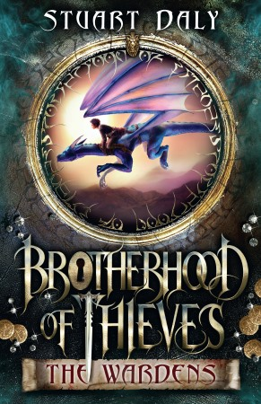 Book Cover for the Brotherhood of Thieves Series