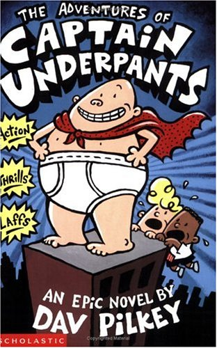 Book Cover for Captain Underpants