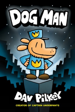 Book Cover for Dog Man