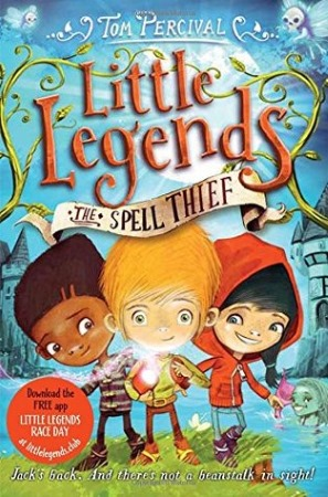 Book Cover for the Little Legends Series