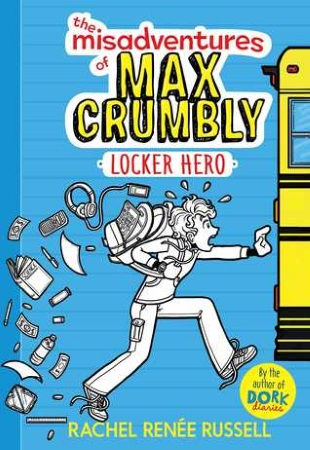 Book Cover for Misadventures of Max Crumbly